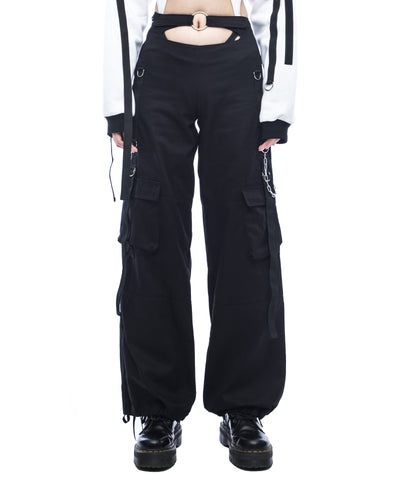 Front cut out workwear trousers