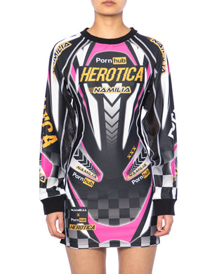 Namilia x Pornhub herotica racing dress