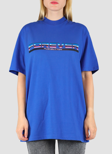 Forever Pushbutton T-shirt - blue