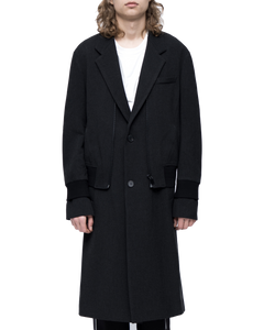 Double pieces coat
