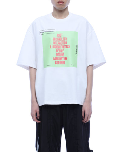 Printed Letter T-shirt