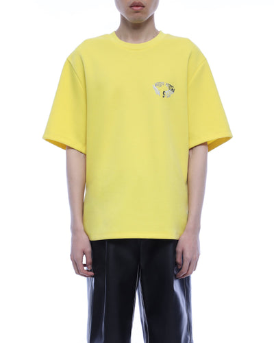 System logo T-shirt - yellow