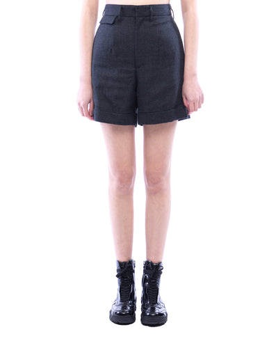 Saxony Wool Short Pants