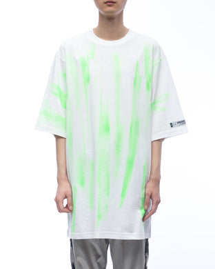 Graffiti T-shirt - neon green