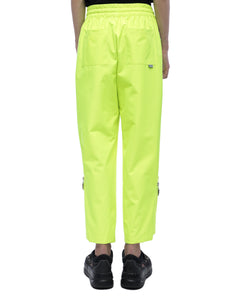 Drawstring sweatpant - neon green