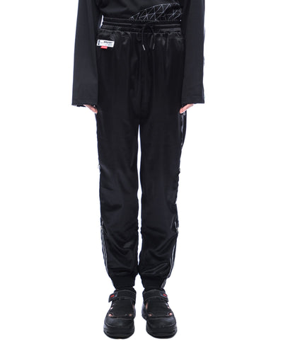 Drawstring sweatpant - black