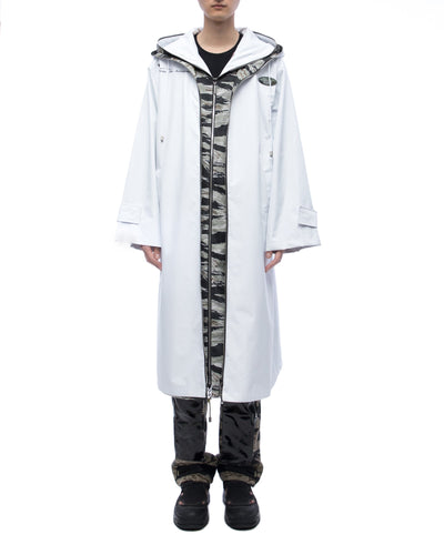Double-layer raincoat