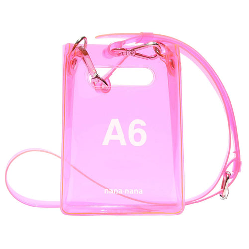 A6 BAG - NEON PINK