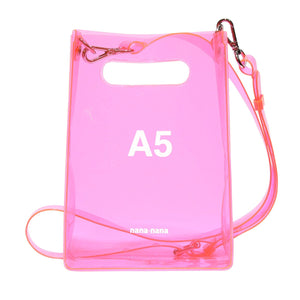 A5 BAG - NEON PINK