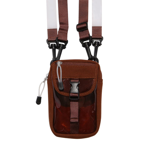 POUCH BAG - BROWN BROWN