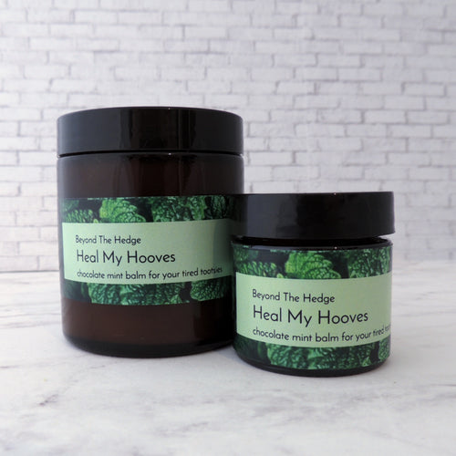 Heal My Hooves Chocolate Mint Foot Balm