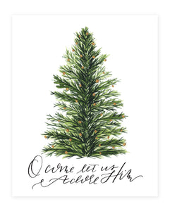Adore Him Christmas Art Print