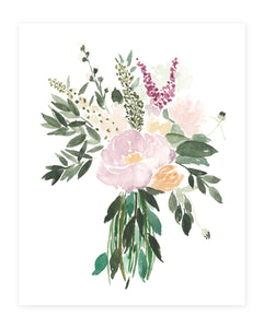 Expectant Bouquet Art Print