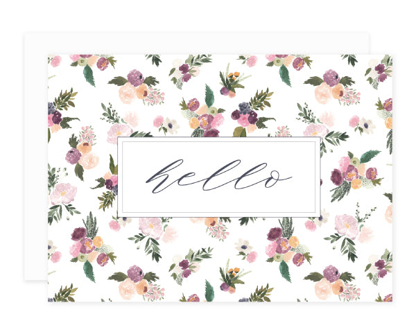 Abundance Greeting Card Set Hello