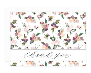 Abundance Greeting Card Set Thank You
