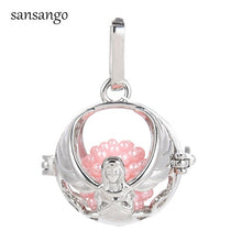 Load image into Gallery viewer, Fairy Angel Girl Oil Diffuser Pendant Locket