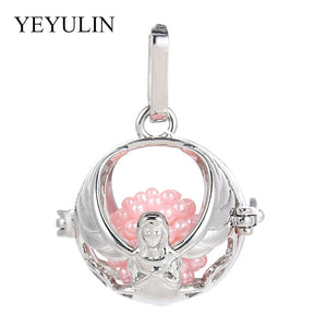 Fairy Angel Girl Oil Diffuser Pendant Locket