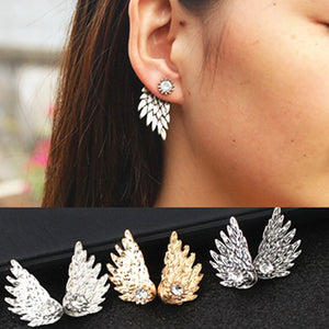 Angel Feather Earrings