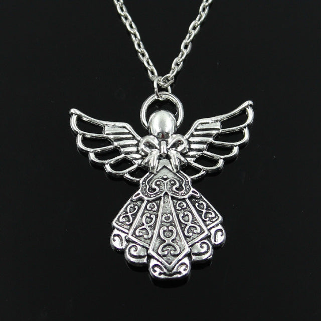 Guardian Angel Pendant & Necklace