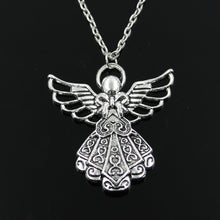 Load image into Gallery viewer, Guardian Angel Pendant & Necklace