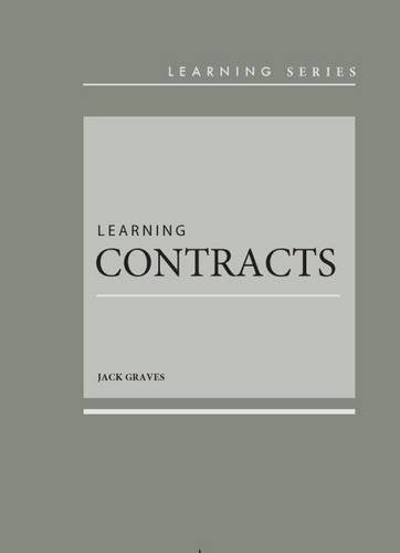 Learning Contracts (Learning Series)