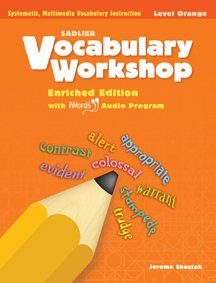 Vocabulary Workshop 2011 Level Orange (Grade 4) Student Edition Paperback  2011