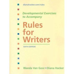 Rules For Writers: City College Of San Francisco Edition [Sixth 6Th Edition]