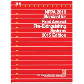 Nfpa 2010 Standard For Fixed Aerosol Fire-Extinguishing Systems, 2015 Edition