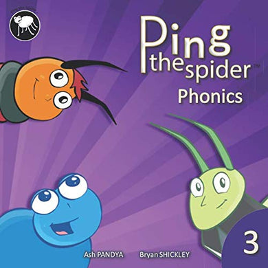 Ping The Spider Phonics - Book 3