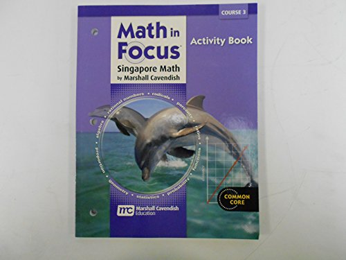 Math In Focus: Singapore Math: Activity Book Course 3