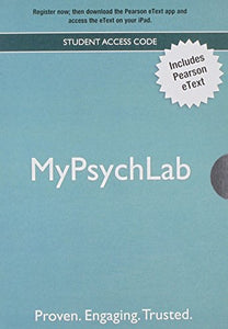 Psychological Science: Modeling Scientific Literacy, Books A La Carte Plus New Mypsychlab With Etext -- Access Card Package