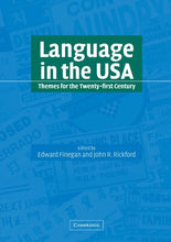 Load image into Gallery viewer, Language In The Usa: Themes For The Twenty-First Century