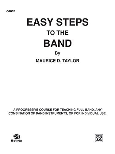 Easy Steps To The Band Oboe