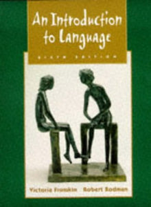 An Introduction To Language, 6E