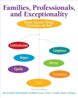 Families, Professionals, And Exceptionality: Positive Outcomes Through Partnerships And Trust, Pearson Etext With Loose-Leaf Version - Access Card Package (7Th Edition)