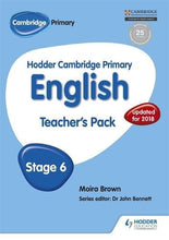 Load image into Gallery viewer, Hodder Cambridge Primary English: Teacher'S Pack Stage 6