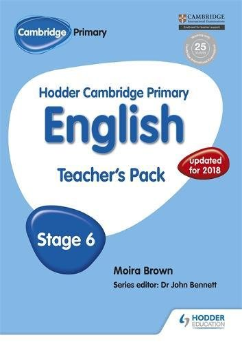 Hodder Cambridge Primary English: Teacher'S Pack Stage 6