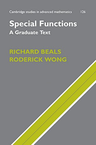 Special Functions: A Graduate Text (Cambridge Studies In Advanced Mathematics)