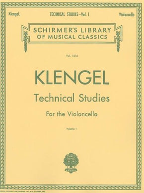 Klengel Technical Studies, Vol. 1: Violoncello