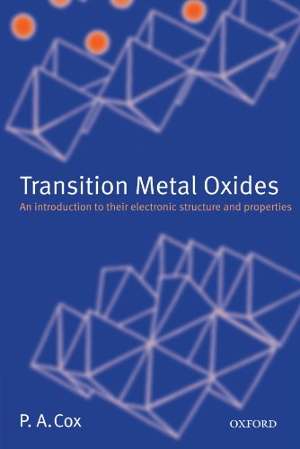 Transition Metal Oxides: An Introduction To Their Electronic Structure And Properties (The International Series Of Monographs On Chemistry)