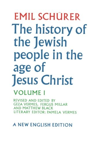The History Of The Jewish People In The Age Of Jesus Christ, Vol. 1