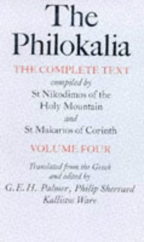 The Philokalia: The Complete Text (Vol. 4) (English And Greek Edition)