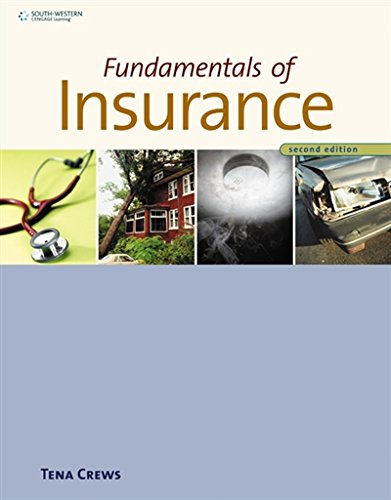 Fundamentals Of Insurance (Insurance Concepts)