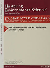 Load image into Gallery viewer, Environment And You, The, Books A La Carte Plus Mastering Environmental Science -- Access Card Package (2Nd Edition)