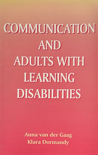Communication And Adults With Learning Disabilities: New Map Of An Old Country