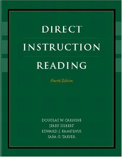 Direct Instruction Reading (4Th Edition)