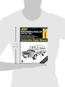 Jeep Wagoneer/J Series, '72'91 (Haynes Repair Manuals)