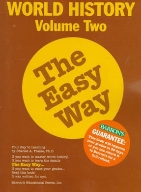 World History The Easy Way Volume Two (Easy Way Series)