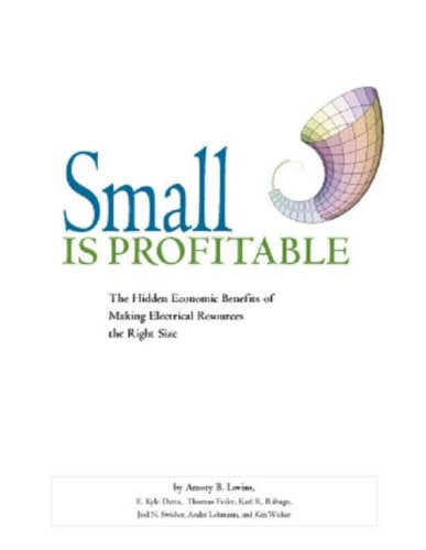 Small Is Profitable: The Hidden Economic Benefits Of Making Electrical Resources The Right Size