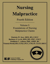 Load image into Gallery viewer, Nursing Malpractice: Foundations Of Nursing Malpractice Claims